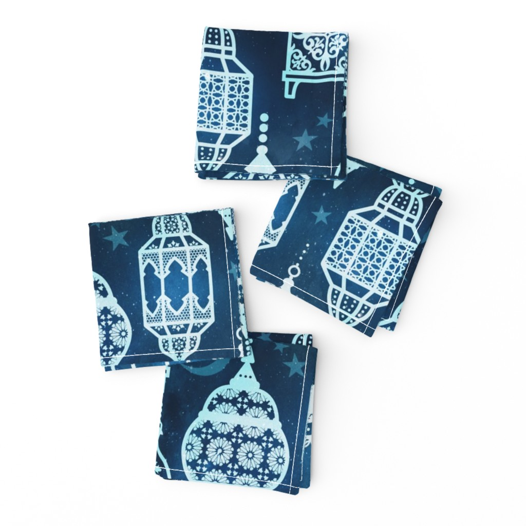Frizzle Cocktail Napkins featuring Marrakech nights by adenaj