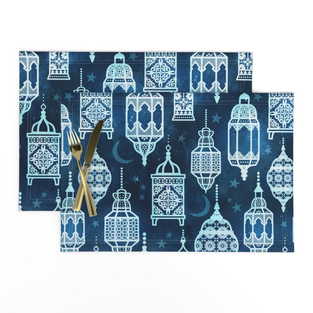 Lamona Cloth Placemats featuring Marrakech nights by adenaj