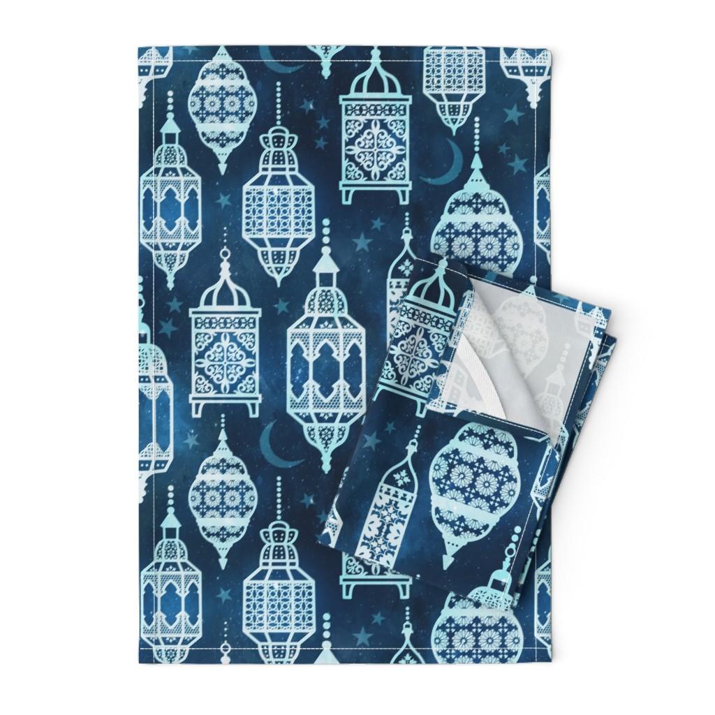 Orpington Tea Towels featuring Marrakech nights by adenaj