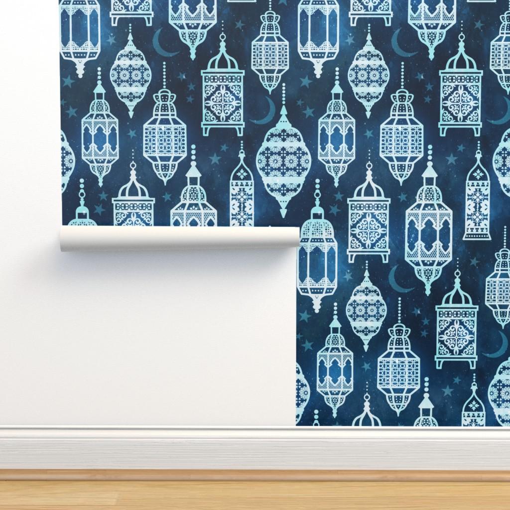 Isobar Durable Wallpaper featuring Marrakech nights by adenaj