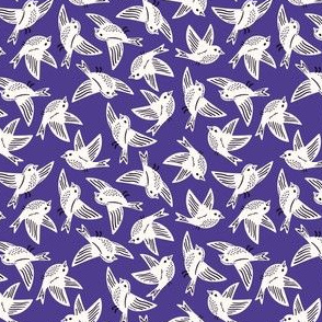 Song Birds Purple