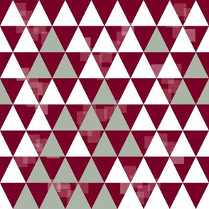 Triangle Trees (Red-White-Green)
