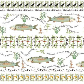 Rainbow Trout Pattern 1C