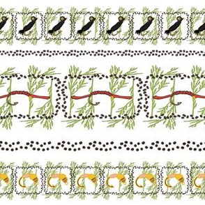 Rainbow Trout Pattern 1Border