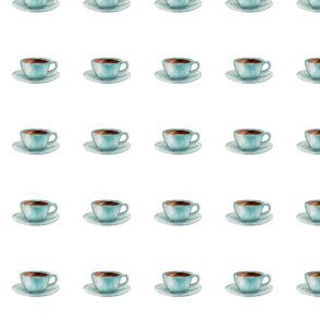 """coffee cup 4"""" x 4"""""""