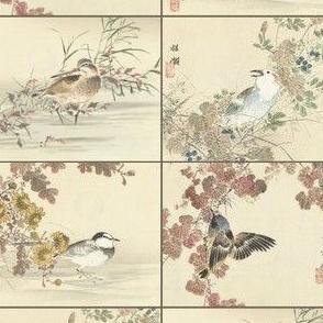 Japanese Bird Pattern