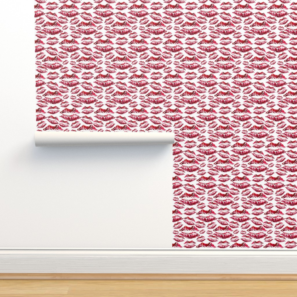 Isobar Durable Wallpaper featuring Lipstick  by dreneewilson