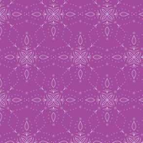 Snowflake in Lively Violet
