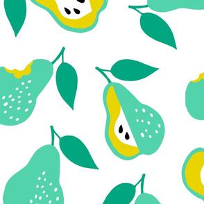 Jumbo school pears ditsy