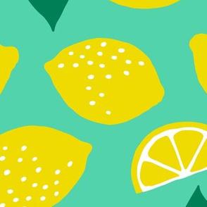 Jumbo summer lemons mint