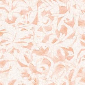 pastel pink leaves