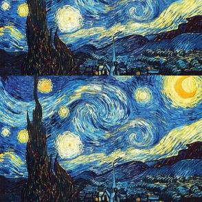 "5x8"" Starry Night by Van Gogh"