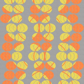 open ellipses in yellow and orange