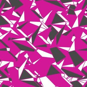origami_dogs_abstract_pink_white_grey