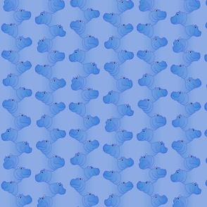 Hippoline - Blue - small