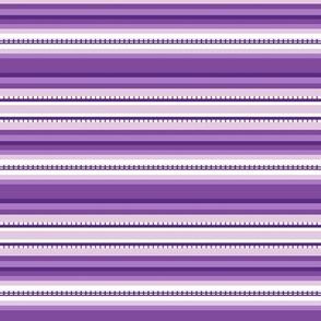 Peru Skinny Stripe Purple Tonal