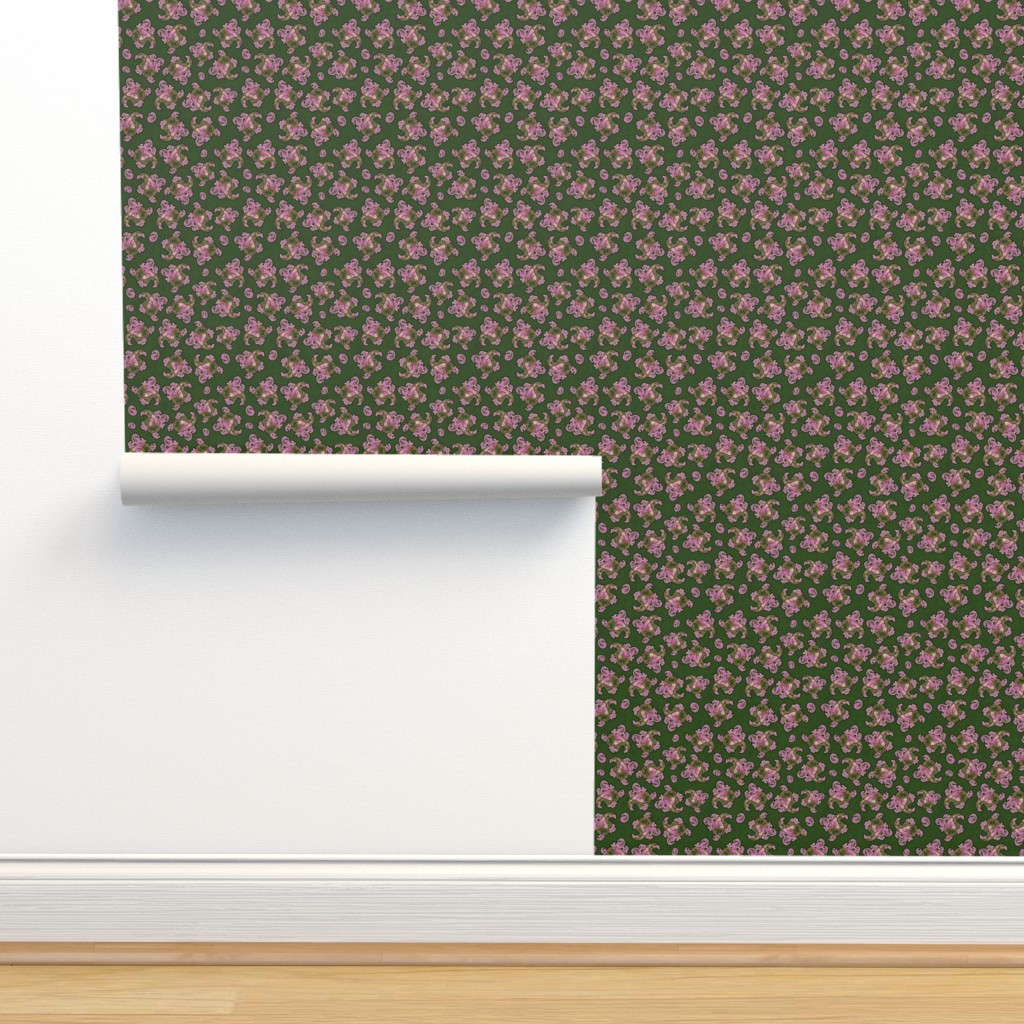 Isobar Durable Wallpaper featuring funky paisley by hannafate