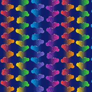 Hippoline - Midnight Rainbow - small