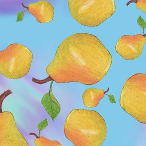 Psychedelic Pear Basic Repeat