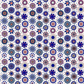 blue discs 6x6