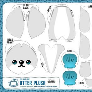 Cut & Sew Otter Plush Gray
