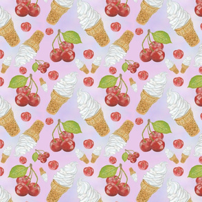 Cones and Cherries Basic Repeat
