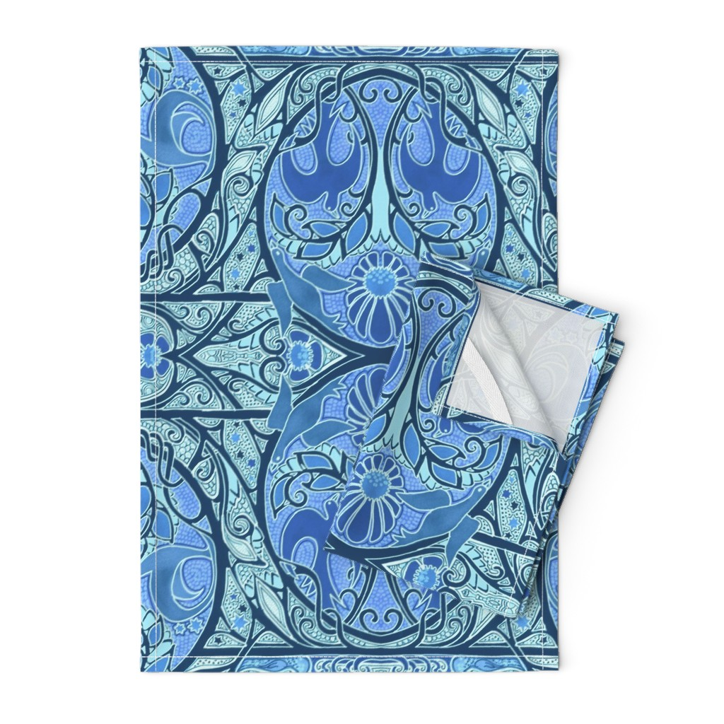 Orpington Tea Towels featuring Soaring Free by edsel2084