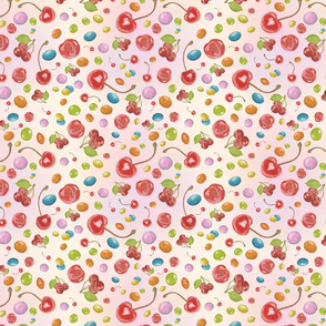 Cherries and Candy Basic Repeat