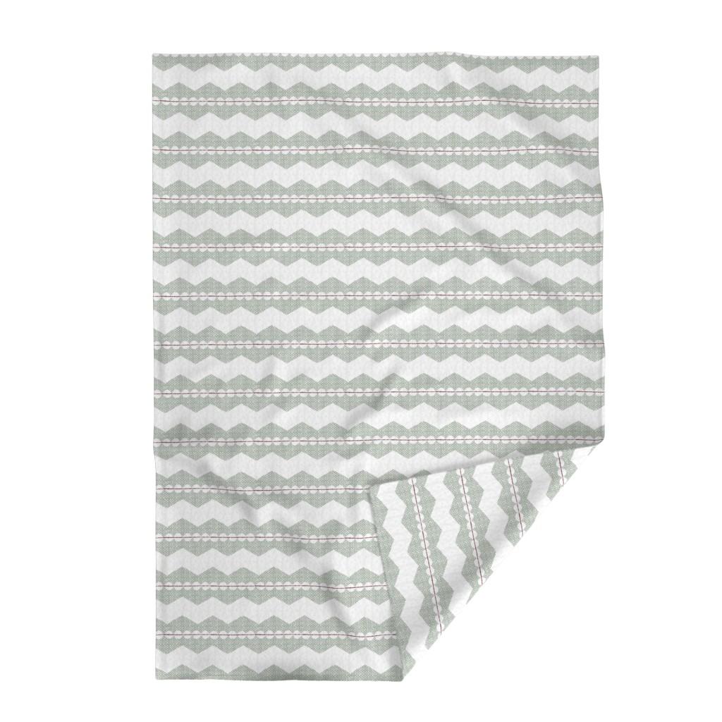 Lakenvelder Throw Blanket featuring holiday chevron by ottomanbrim