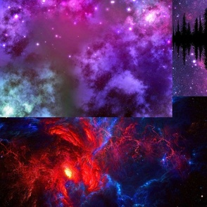 Galaxies Collage