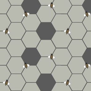 Gray Honeycomb (Small)
