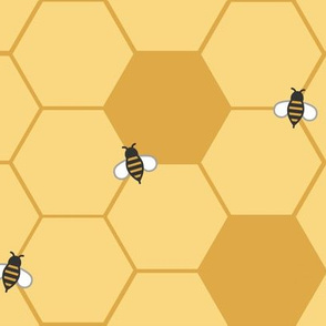 Gold Honeycomb (Large)