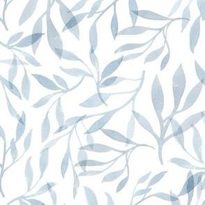 Succulent Leaves - French Blue