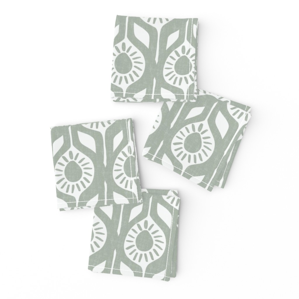 Frizzle Cocktail Napkins featuring Peace - Elegant Holiday - Modern Floral by scarlette_soleil