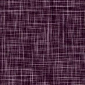 Solid Linen - Blackberry-