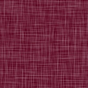 Linen - Cranberry