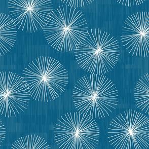 Dandelions M+M Ultramarine by Friztin