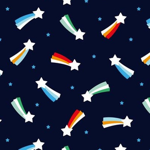 Shooting stars sparkle universe sweet dreams theme gender neutral