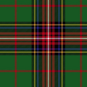 "King George VI tartan, 6"" variant, red stripe"