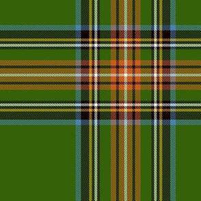 "King George VI / Green Stewart tartan,  7"" - worn by Prince Charles, ancient colors"