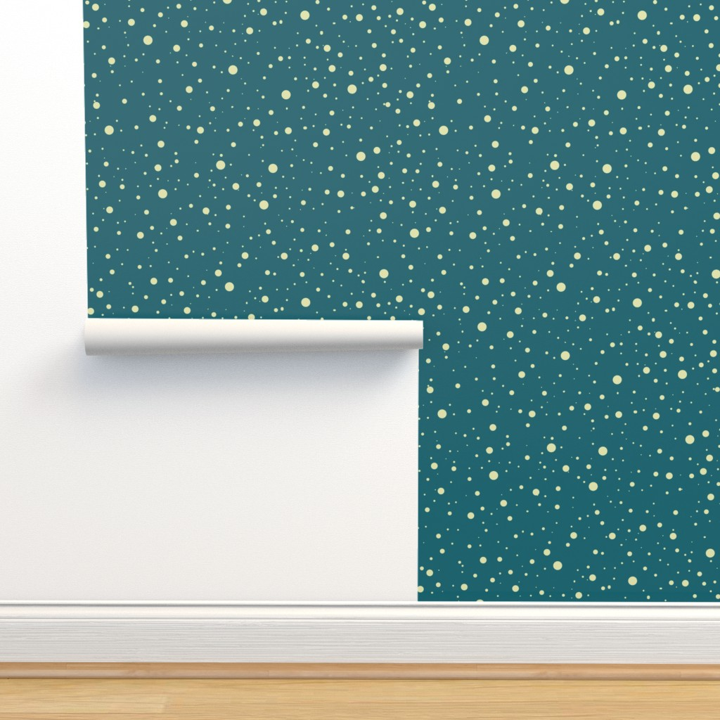 Isobar Durable Wallpaper featuring Snow vintage02 by chicca_besso
