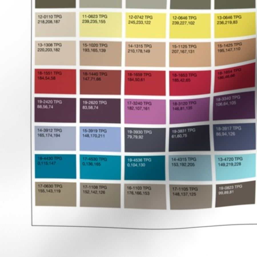 PANTONE Fashion Home + Interiors Color Guide ...