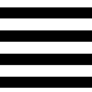 Stripes BIG Black and White