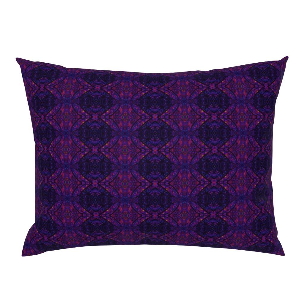 Campine Pillow Sham featuring KRLGFabricPattern_112F6LARGE by karenspix