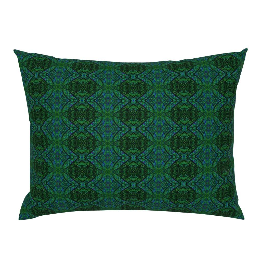 Campine Pillow Sham featuring KRLGFabricPattern_112F5LARGE by karenspix
