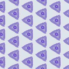 afrikaans driehoeken blauw en grijs - tweede versie