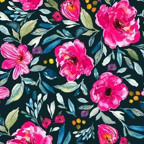 Indy Bloom Design Summertime garden 9x9