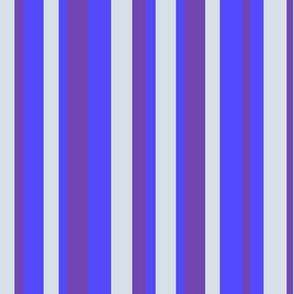strepen blauw en grijs