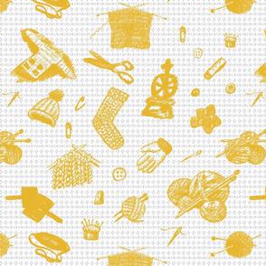 Tak Dee Sock - Yellow