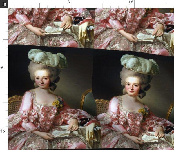 Silver White Masquerade Marie Antoinette Wig